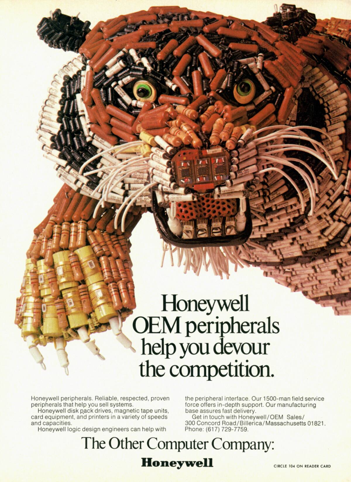Electronic Parts Tiger Old Honeywell Ad 171 Adafruit