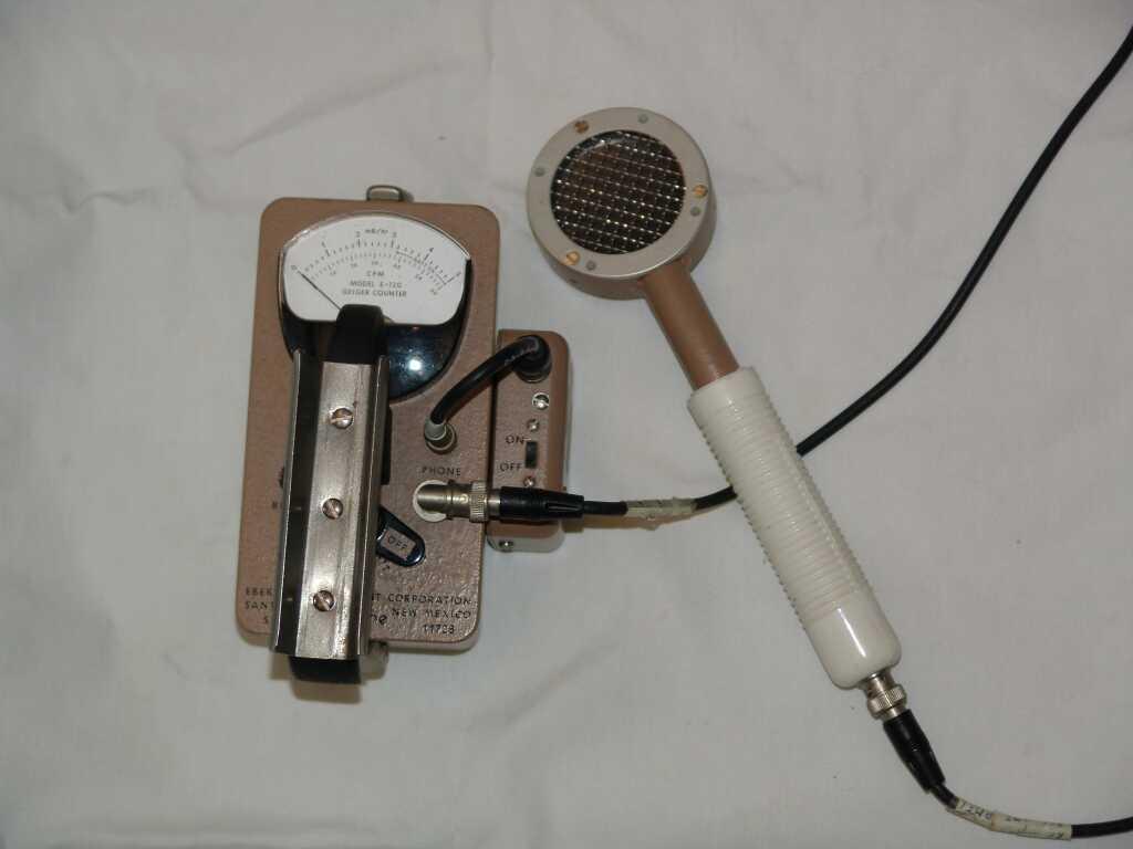 Frames Based Gieger Counter Geiger Diagram Eberline Inst E 120 W Pancake Probe