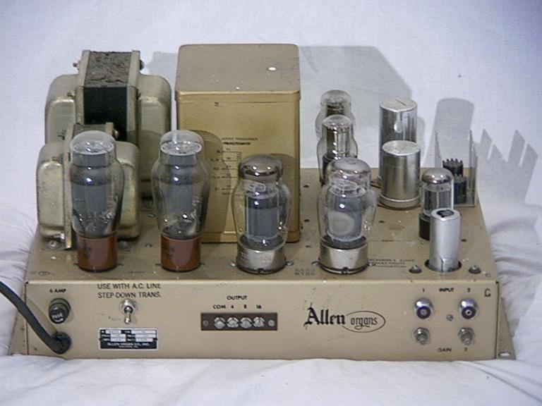 Allen organ 90 tube amp schematics needed - JoeRB - Tubes Asylum